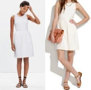 Madewell afternoon white dress small
